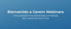 Video Plataforma Webinars Cerem